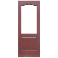 Best HDF Timber Door + Glass Opening