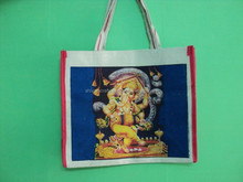 INDIAN GODS PRINTED SHOPPING BAGS LOT OF 100 PCS