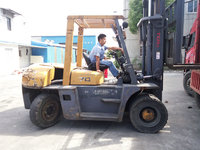 7 ton tcm used Forklift rolled just 2 years, with a cheaper and affordable