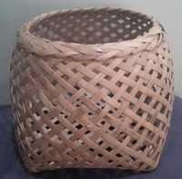 Thai bamboo flower pot