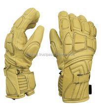 Yellow Ski Gloves