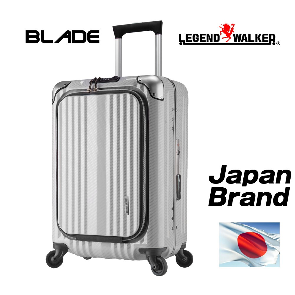 Japan brand and Business Front-open pocket luggage telescopic trolley bag at reasonable prices with original TSA locks