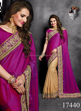 Heavy Wedding Design Color Combinations Sarees