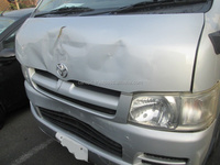 USED JAPANESE DAMAGED CAR FOR TOYOTA HIACE VAN DX 2006 KR-KDH200V EXPORT FROM JAPAN