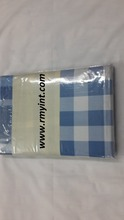 Pakistani RMY 127 top quality cotton check style bed sheets