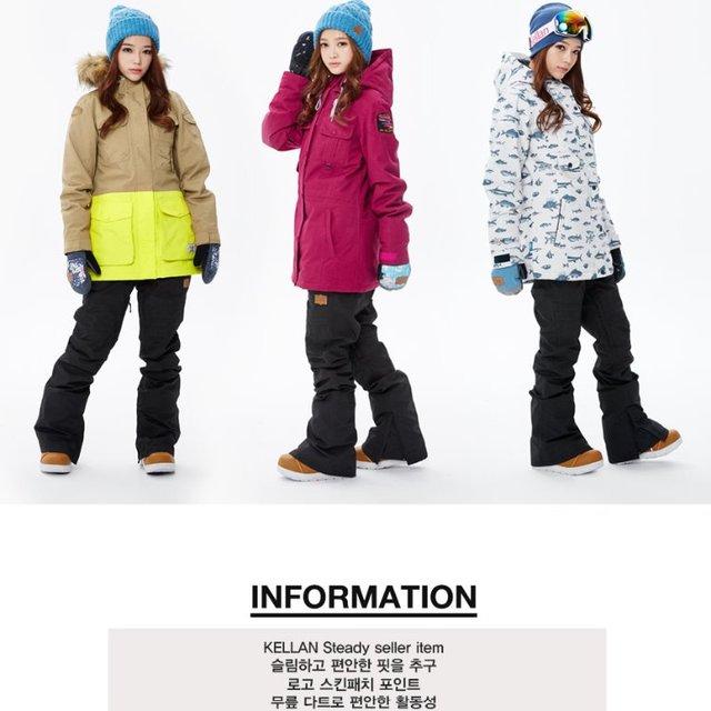 MADE IN KOREA SNOWBOARD WEAR FROM KOREA STYLE