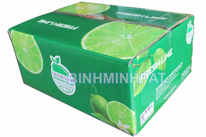 Cardboard fruit packing box for Lemon export boxes