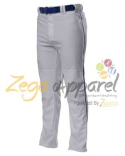 Zegaapparel Newest baggy pants custom mens baggy pants 100% polyester baseball pants