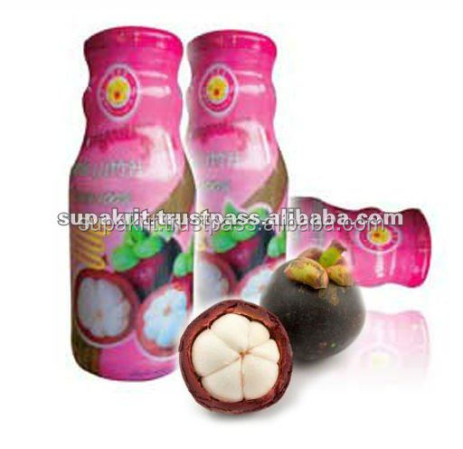 Mangosteen Juice 100% from Thailand [ Thai Ao Chi Brand ] : 100% FRUIT JUICE .