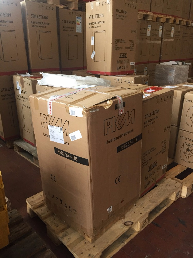GERMANY Home Electric Appliances, Returns, Overstock, Cancelled orders