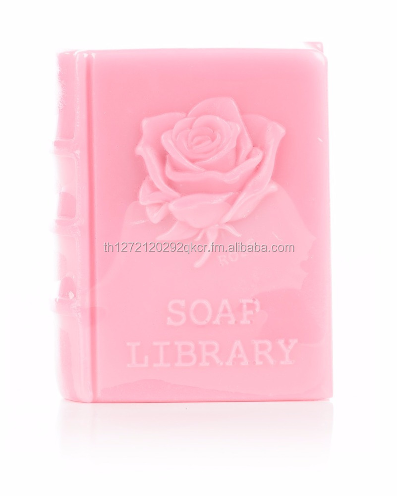 Flower book soaps - Rose scent