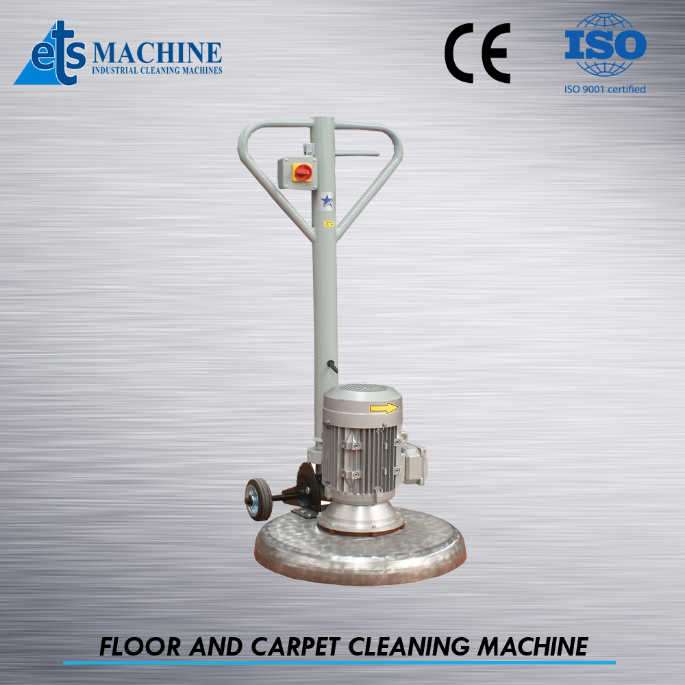 Stainless chrome long life carpet cleaning machine