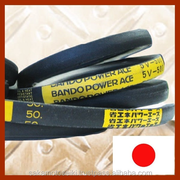 Popular brand BANDO antistatic v-belt for blower fan , other industrial tools available