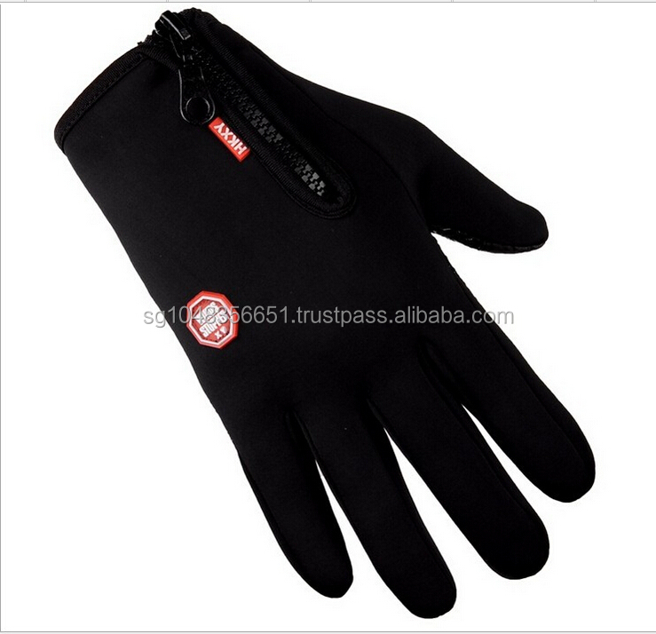 Waterproof outdoor sports men safety working hand gloves