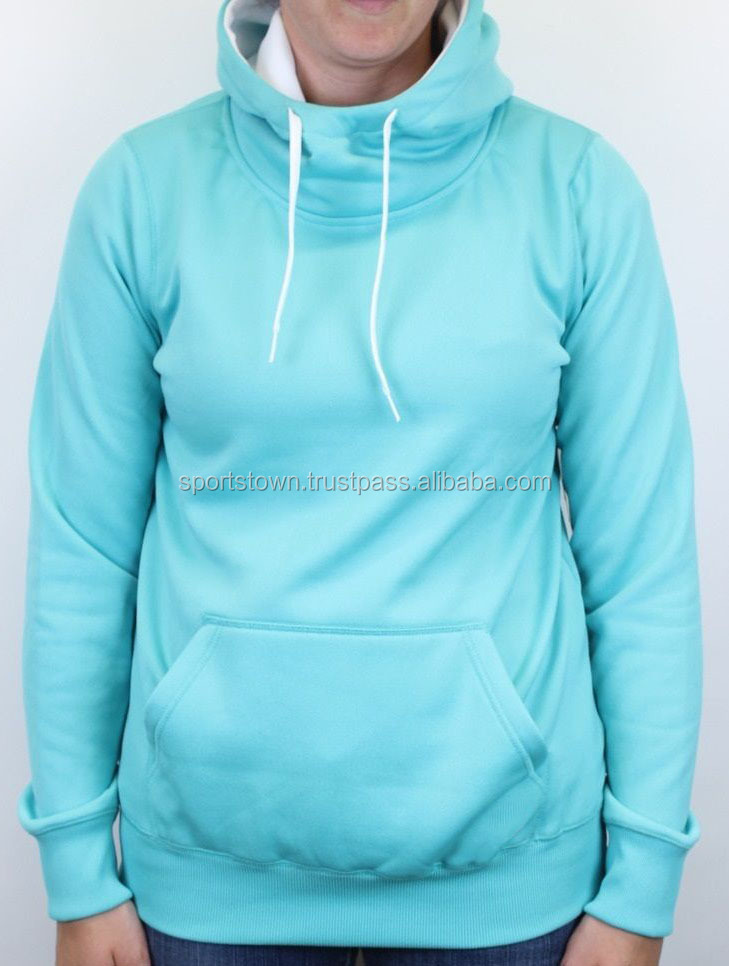 2016 New style apparel women clothing lady's plain sweatshirt Fleece Polyester Blank Hoodies Women causal Pullover Hoodies