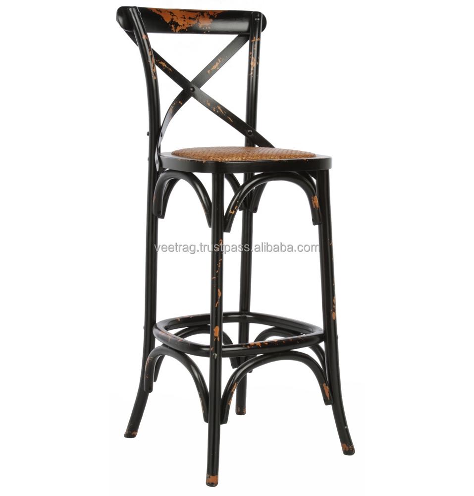 Vintage industrial muebles vaeis 098 retro acabado silla for Muebles retro industrial