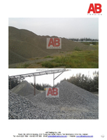 Best type crushed stone for road/bridge construction / different sizes crushed stones