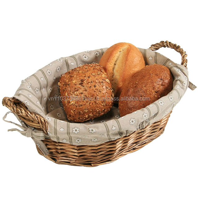 BAMBOO BASKET FOR FRUIT/STORAGE BASKET/ BREAD BASKET (Ms.Holiday)
