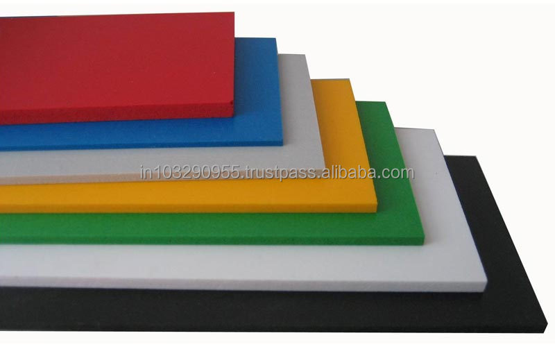 PVC Foam Sheets recommended for fire retardant applications