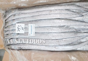 Guaranteed to deliver frozen ribbon fish finest quality, hairtail fish