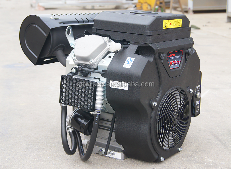 Gewilson 22HP double-cylinder Gasoline Engine (2V78F)