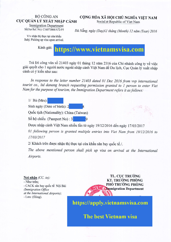 E Vietnam Business Visa, Vietnam Tourist Visa for India Citizen