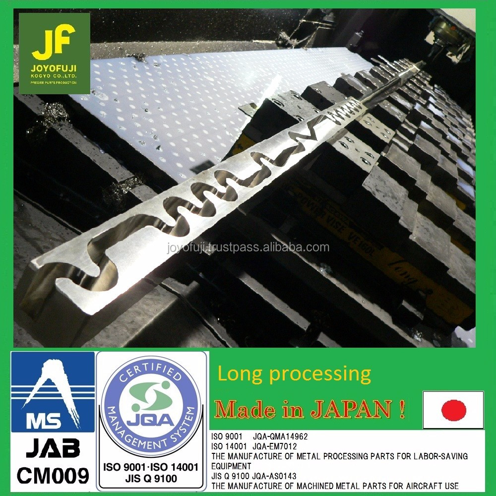 ISO certified high precision CNC lathe machining for elongated metal