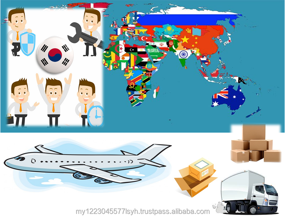 Delivery South Korea to Malaysia Door to Door Express Small Parcel Import Export