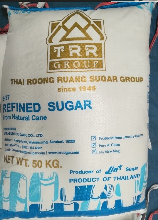 Thai Sugar 50 kg per bag