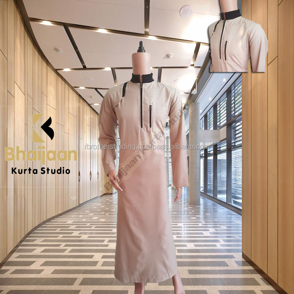 New arrival men islamic clothing saudi arabian designs thobes