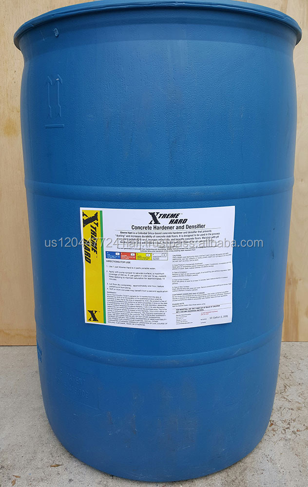 Xtreme Hard Densifier Concrete Hardener 55-Gallon Barrel Concentrate