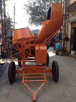 Hydraulic Concrete Mixer with Hopper Electric operated