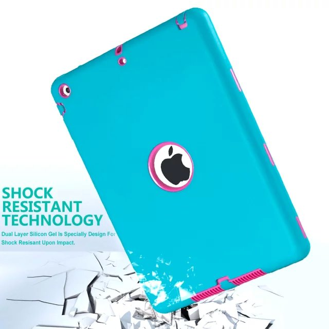 for mini 1/2/3/4/5/6 Luxury Full Body shockproof apple ipad covers case silicone supplier in China