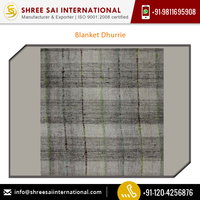 Top Dealer Supplying Blanket Dhurrie Rug Price