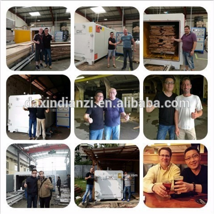 High frequency vacuum wood dryer/Timber Dryer Kiln