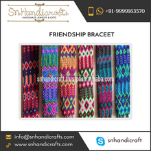 Handmade Mexican Thread Fancy Friendship Bracelets from Genuine Supplier