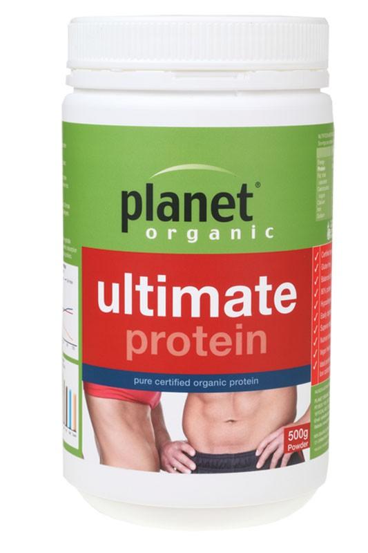 PLANET ORGANIC Ultimate Protein 500g - Brown Rice Protein