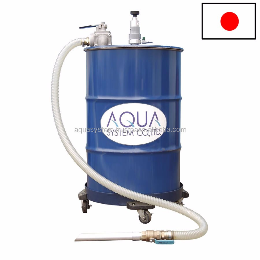 Highly-efficient filtration cleaner APDQO-F to filtrate cutting fluid, nonwoven filter and SUS filter also available