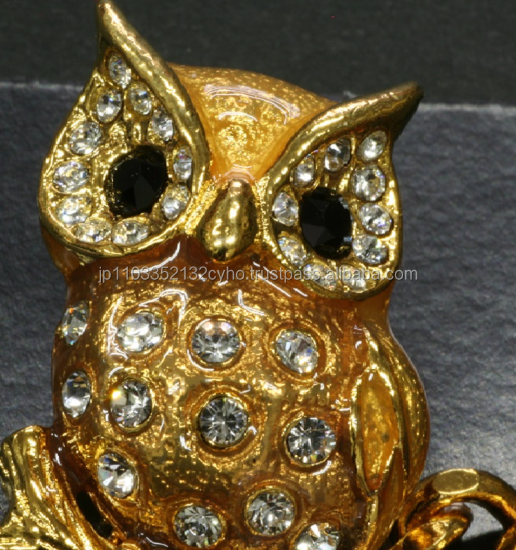 Fine key owl holder for designer key blanks from japanese supplier