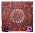 Wall Hanging Hippie Throw Gift Bohemian Bedspread Yoga Mat Indian Decor Mandala Tapestry