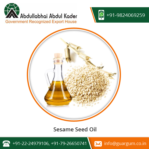 Authentic Sesame Oil Is Cholesterol Free And Widely Used In Cooking