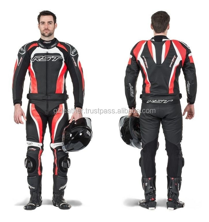 Leather Motor Bike Racing Super Style Biker Suit/Motorbike Leather suits / Heavy bike suit/ cowhide leather