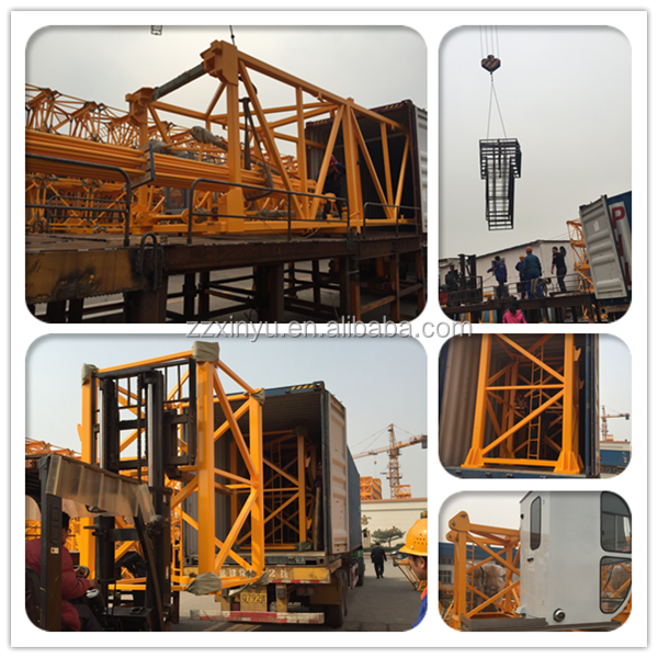 Good performance China supplier QTZ40 topkit tower crane price