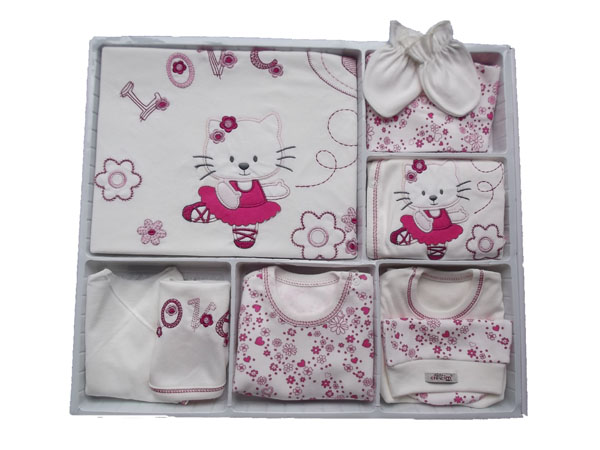 ballerina cat newborn set 10 pieces