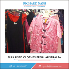 Used Bulk Unsorted Clothes/Tops from Best Clothing Exporter