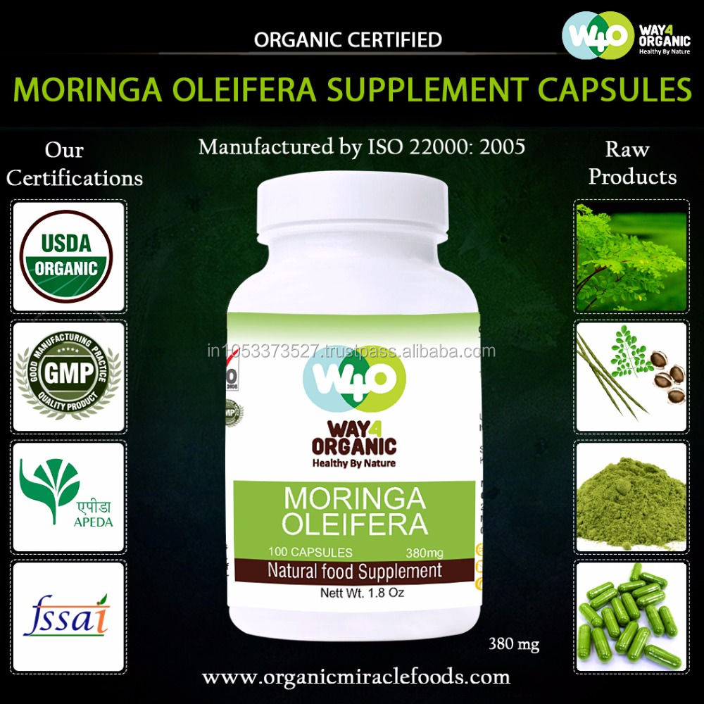 Magic herbal diet pills organic moringa capsule