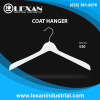 "330 - 17"" Plastic Outer Wear Hanger for Coats, Jackets, Blazers - Philippines"