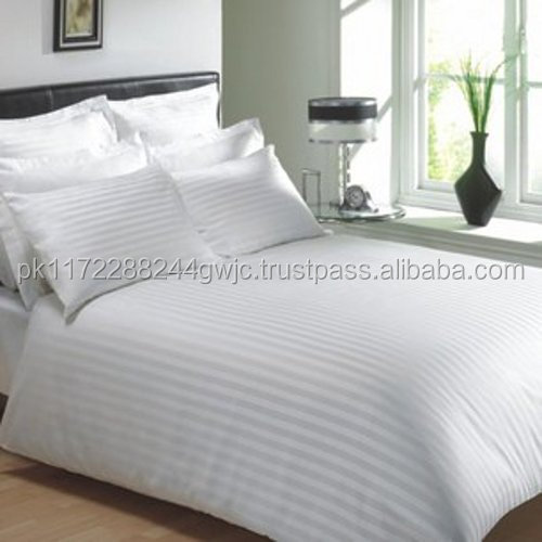 Luxury Five Star Hotel 100% Cotton Hotel Bedsheets/Wholesale Polyester Cotton Fabric Hotel Single Bedsheet and Fitted Sheets