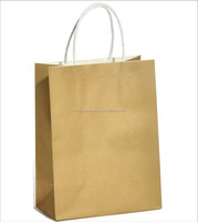 Craft paper bags with twisted handle (TH232-150003 Brown )