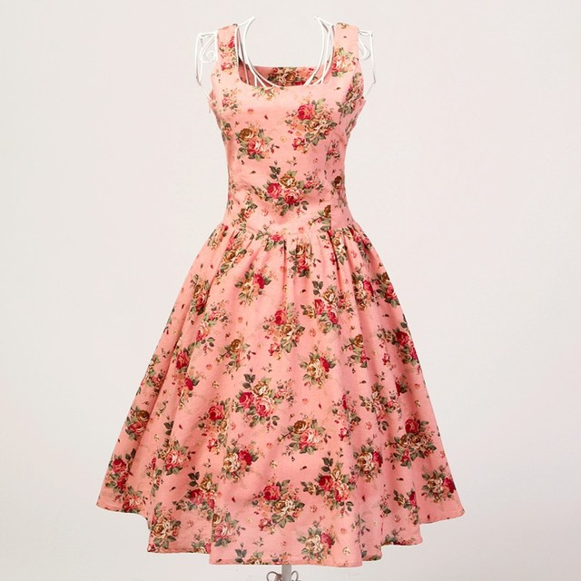 wholesale dropship a-line circle full vintage design short evening dresses for women